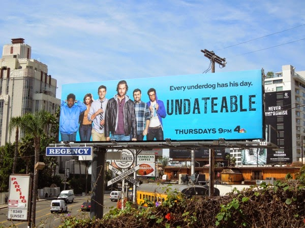 Undateable series premiere NBC billboard