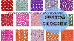 Colección de 30 puntos crochet / ganchillo