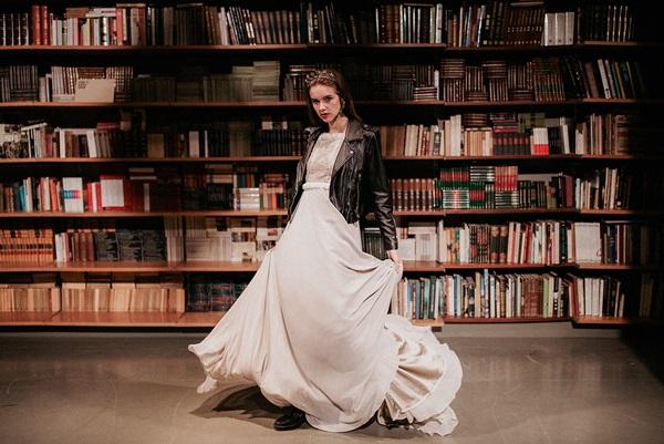 Vestido de novia de Juana Rique