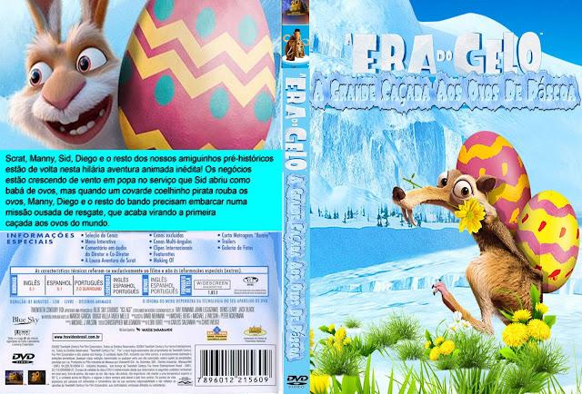 Capa DVD A Era Do Gelo A Grande Caçada Aos Ovos De Páscoa