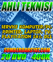 tutorial service printer laptop pcd tv playstation