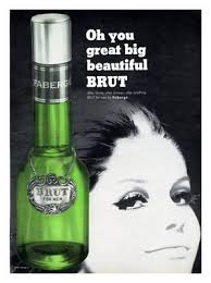 Brut aftershave lotion