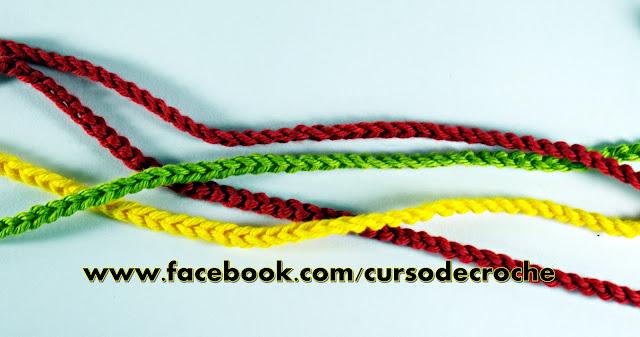 Como fazer crochê Laçada Inicial para Canhotos Aprender Croche Canhotas Left Handed Crochet com EdinirCroche