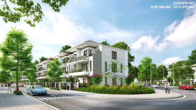 Lavila villas in SaiGon south (perspective photo).