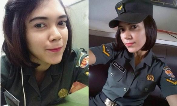 8 Tentara Cantik Indonesia, Bikin Cowok 'Pengen Ditembak