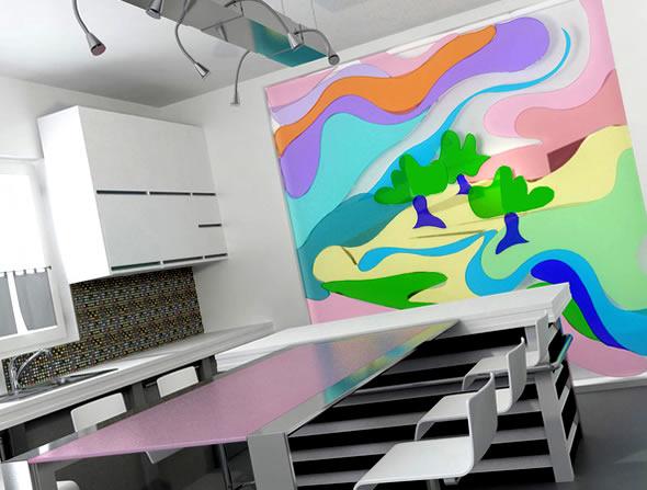 Sumber warna carilah apa yang membentuk warna ruangan for Sofa bed yang bagus merk apa