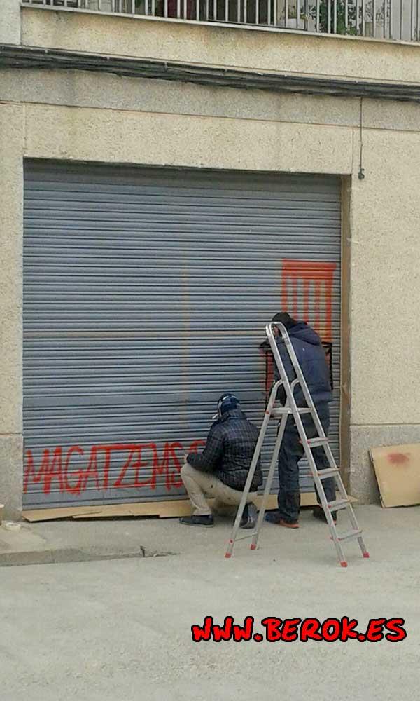 graffitis Magatzems dels mobles
