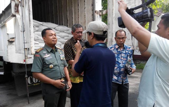 Beras Warga NTB Nyaris Diselundupkan, TNI Gerak Cepat