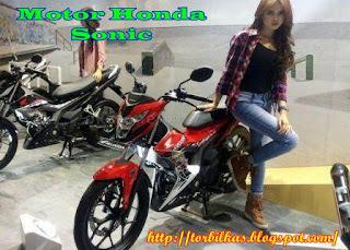 Jual Motor Honda Sonic Second Termurah di Indonesia