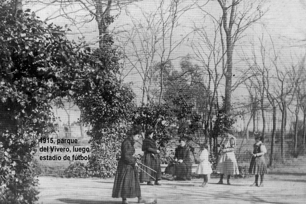 Parque del vivero 1915 almendralejo en fotos for Vivero del parque