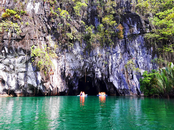 The Underground River in Puerto Princesa Palawan