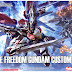 HG 1/144 Freedom Gundam Frame Ferder Extension parts [Hobby Japan August 2015 Issue Exclusive] - Release Info