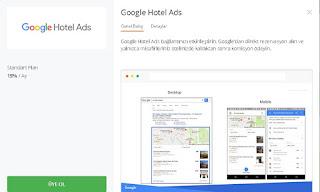google otel reklamı