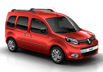 Renault kangoo ii restyl 2015 couleurs colors - Coloration rouge vif ...