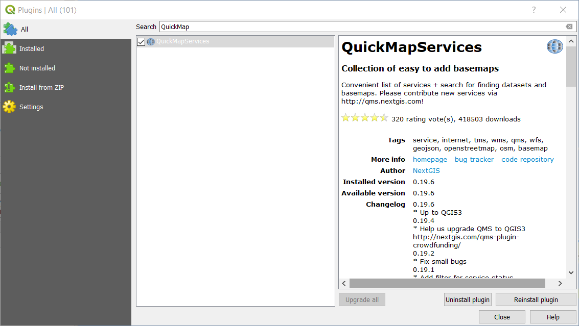QuickMapServices Now Supports QGIS 3 0+ – Information 4 All