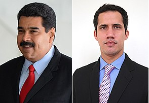 Venezuela's Maduro cuts off U.S. relations after Trump backs opposition leader Juan Guaidó.
