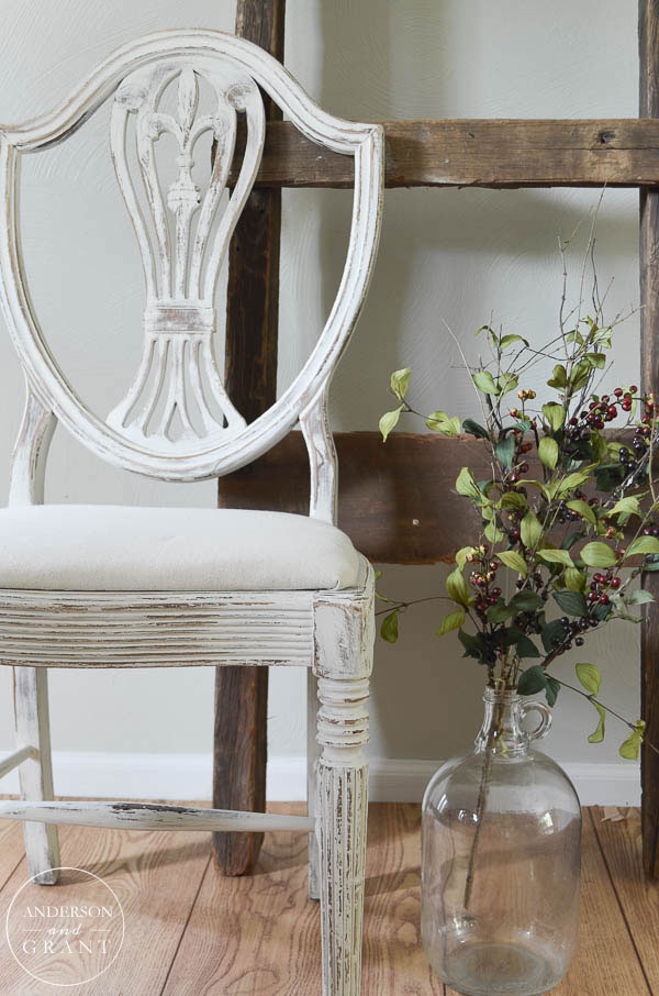 Check out this post to see how a $1 yard sale find was turned into a beautiful shabby chair with Fusion Mineral Paint   www.andersonandgrant.com
