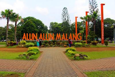 Alun Alun wisata Kota Malang