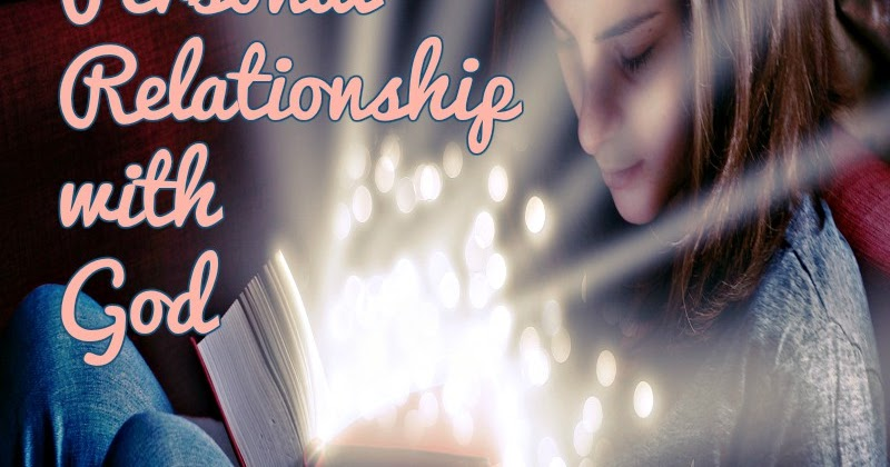 starting a personal relationship with god