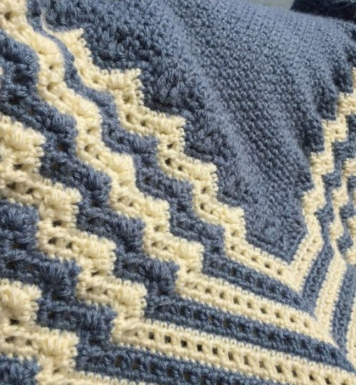 Crochet Scottish Hap - Free Pattern