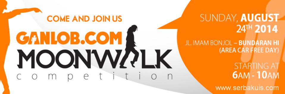 Kontes Moonwalk Berhadiah Uang Total 2,25 JUTA