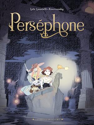 Couverture de Perséphone de Loïc Locatelli-Kournwsky chez Delcourt