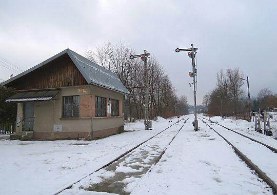 """Stacja kolejowa """"Rabka-Zaryte""""."""