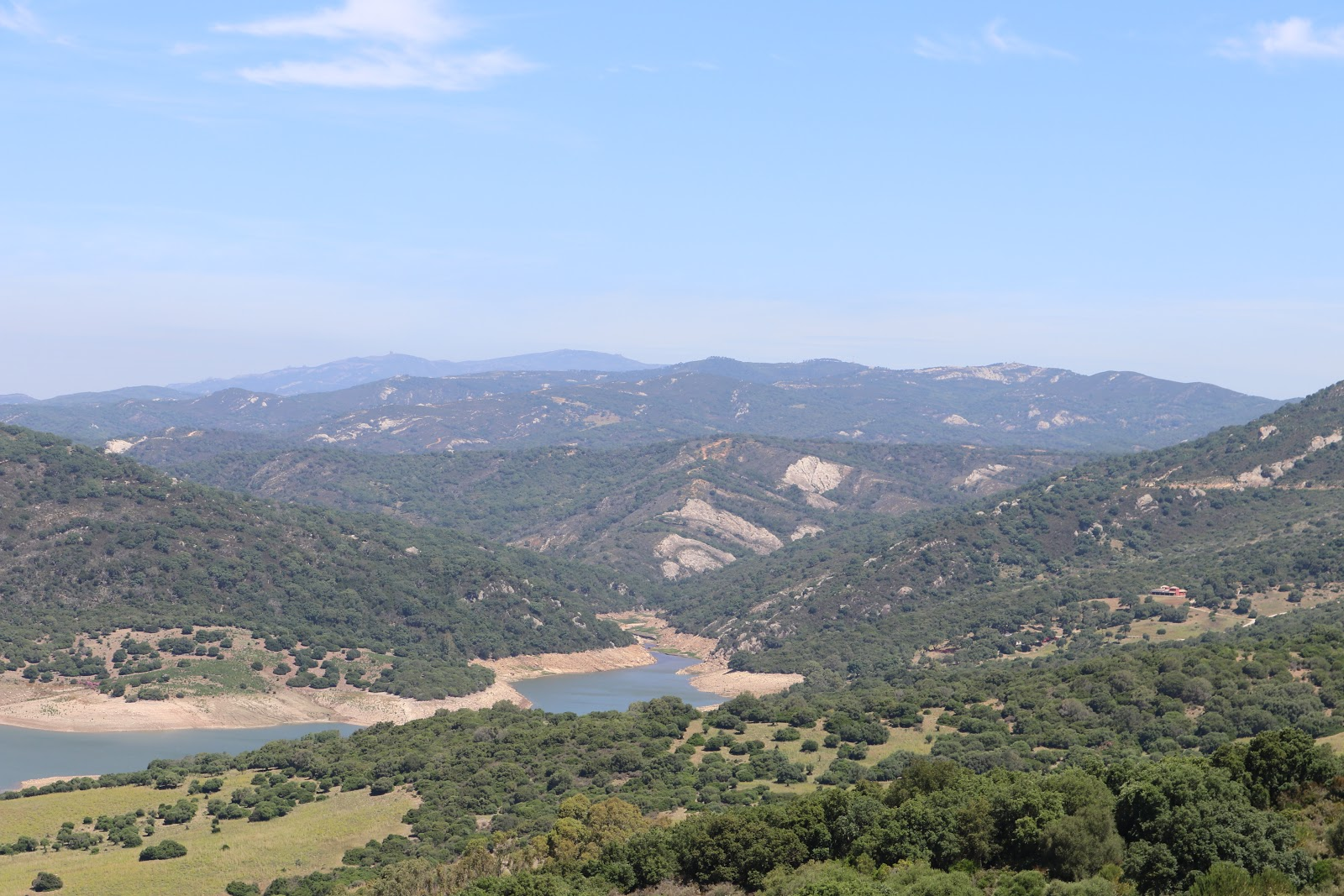 View from Castillo De Castellar de la Frontera, Spain