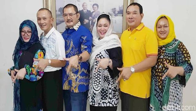 Seluruh Keluarga Cendana Akhirnya Berlabuh di Partai Berkarya
