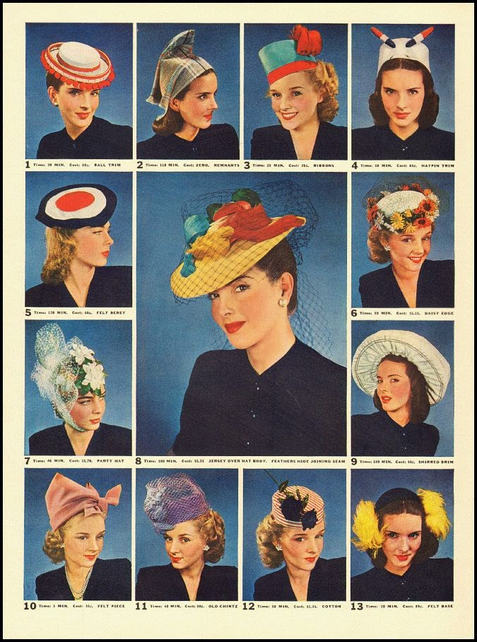 Dirty Fabulous: How To Wear Vintage Hats