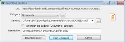 Kapasitas file menjadi kosong