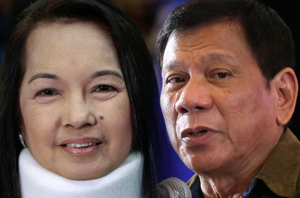 Arroyo thanks Duterte and SC on her release