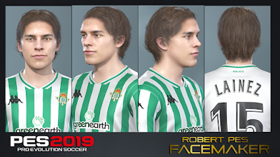 PES 2019 Faces Diego Lainez by RobertPes Facemaker