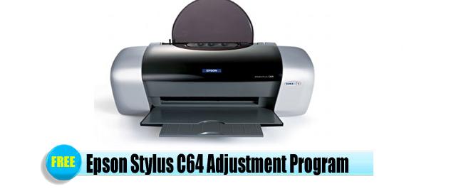 Epson Stylus C64 Adjustment Program