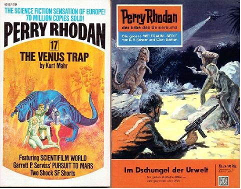 The Perry Rhodan Reading Project Perry Rhodan 17 The Venus Trap