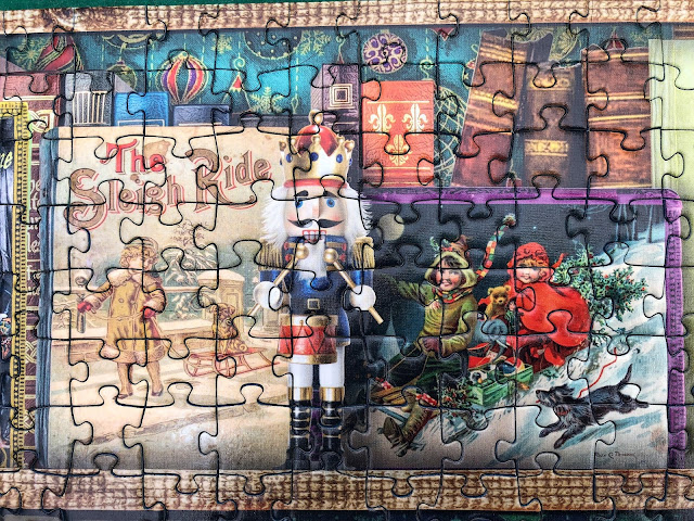 Christmas-themed puzzles