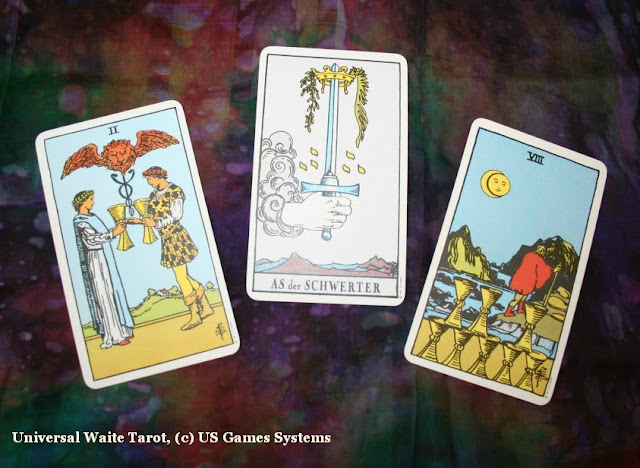 Tarot 3-card love reading