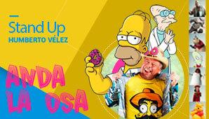 ANDA LA OSA Stand Up Comedy por Humberto Vélez
