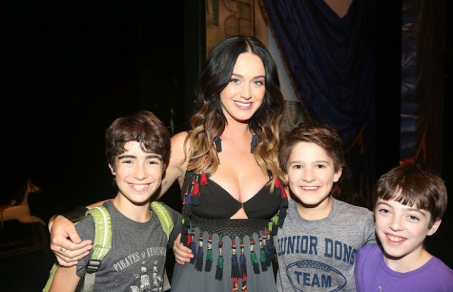 Katy Perry – 'Finding Neverland' on Broadway