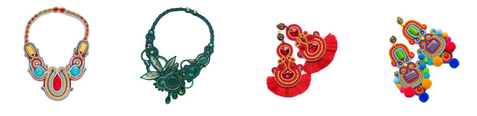 zdj 6 mró soutache jak zrobić biżuterię techniką soutache kolczyki biżuteria na wesele ślub pompony tęczowa kolorowa polska firma wyrób biżuterii ręczna biżuteria handmade sandały z pomponami wywiad pomysł biznes