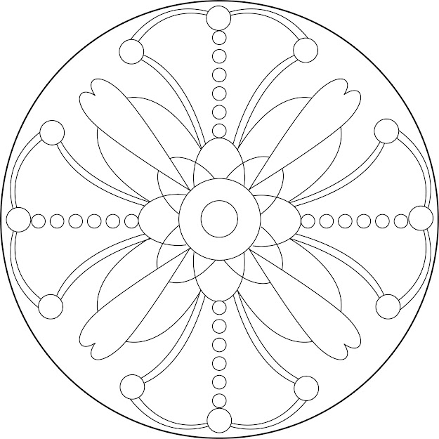 Printable Mandala Patterns  Simple Mandala Coloring Pages Printable  Plex Patterns Colouring