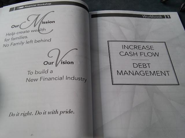 Workshop 1: Increase Cash Flow and Debt Management