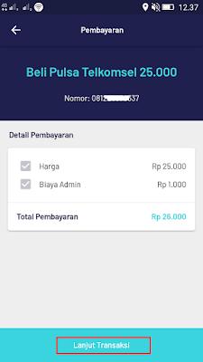 pulsa gratis dari aplikasi pede android