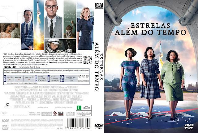 Capa DVD Estrelas Além Do Tempo [Exclusiva]