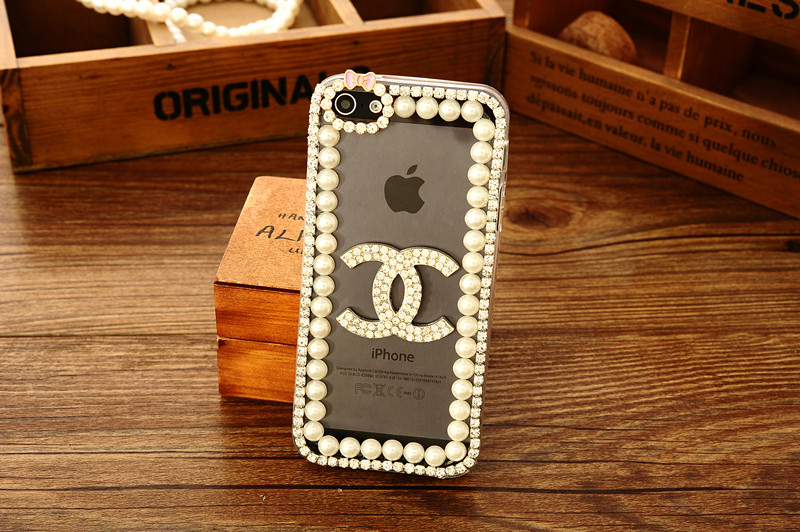 coque channel iphone 8