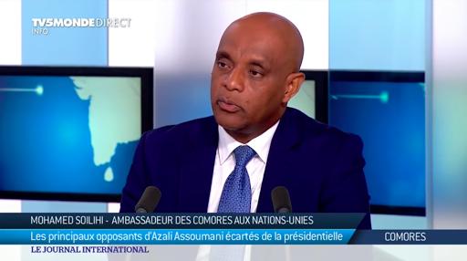 Le passeport diplomatique de l'ambassadeur des Comores  aux États Unis est annulé