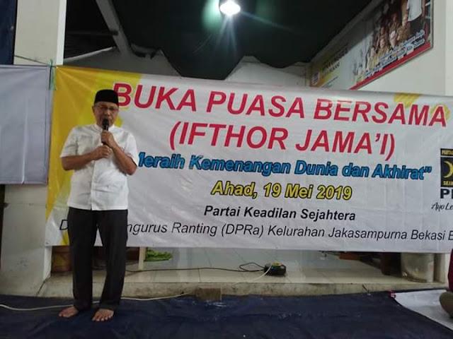 Mahfudz Ngabuburit Bareng Saksi PKS
