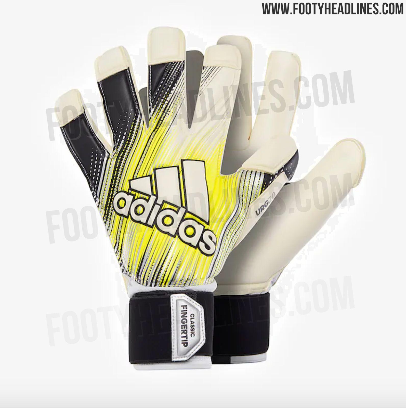 88b14de63 Adidas Classic Pro 'Iker Casillas' Goalkeeper Gloves - Black / Solar Yellow  / White