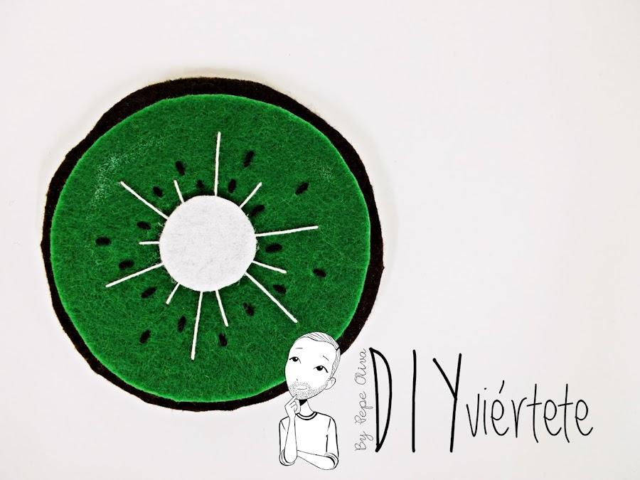 BLOGERSANDO-frutas-DIY-fieltro-kiwi-posavasos-manualidades-8