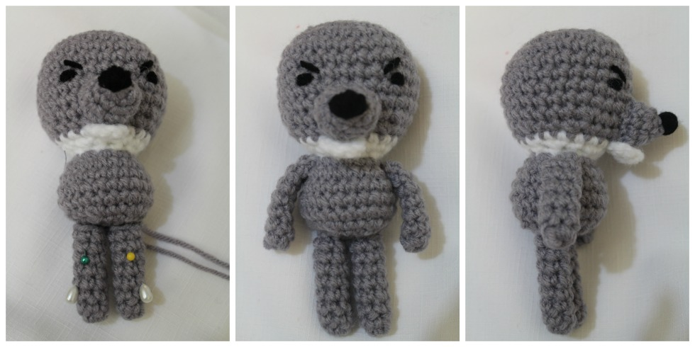 Amigurumi Arms And Legs : Big Bad Wolf ~ Amigurumi To Go